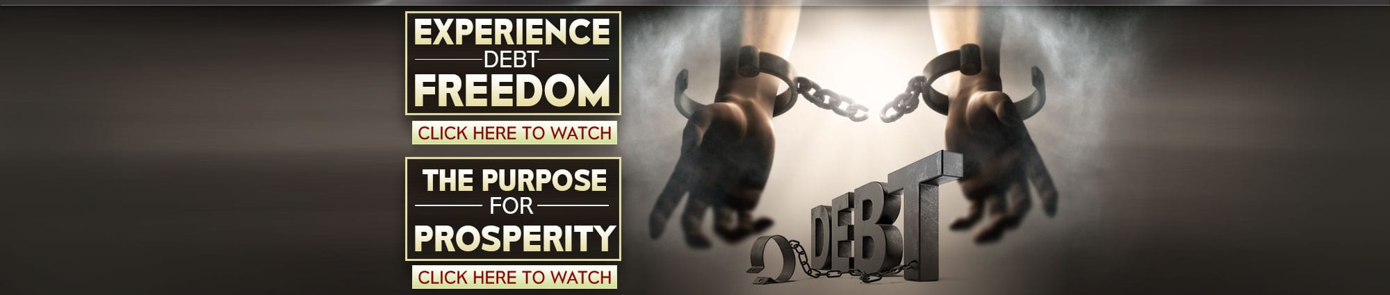Experience Debt Freedom